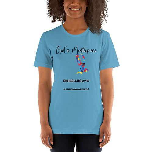 God's Masterpiece Autism Awareness - Black