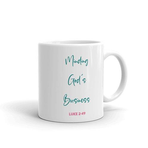 Minding God's Business Color Mug