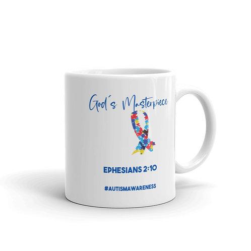 God's Masterpiece Autism Awareness Mug
