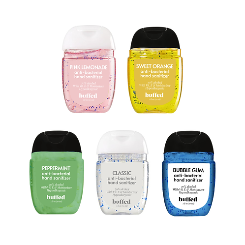 The Collection Anti-Bacterial Hand Sanitizer (30 ml), 5-pack