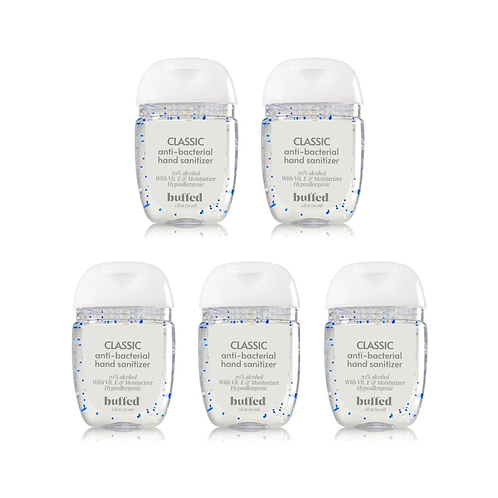 Classic Anti-Bacterial Hand Sanitizer (30 ml), 5-pack