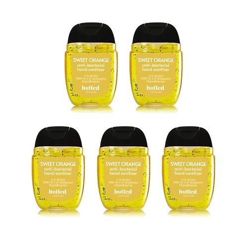 Sweet Orange Anti-Bacterial Hand Sanitizer (30 ml), 5-pack