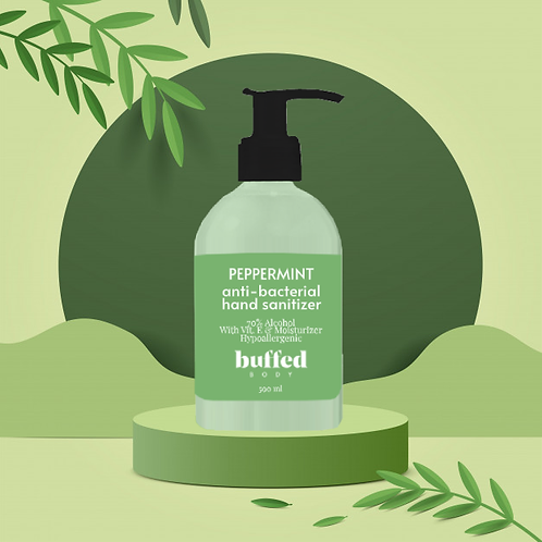 Peppermint Anti-Bacterial Hand Sanitizer (500 ml)