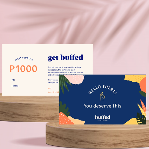 P1000 Buffed Nail Lounge Gift Certificate