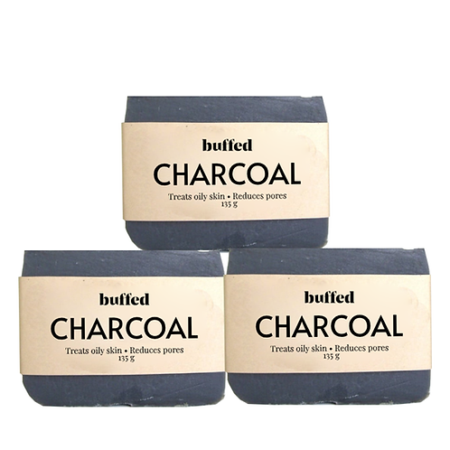 Charcoal Soap, 3-pack