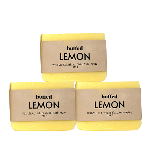 Lemon Soap, 3-pack