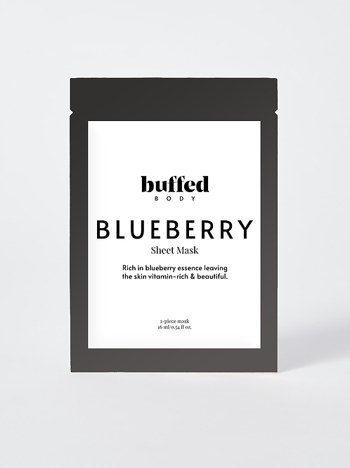 Blueberry Face Sheet Mask