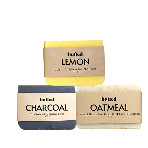 The Organic Soap Collection, 3-pack