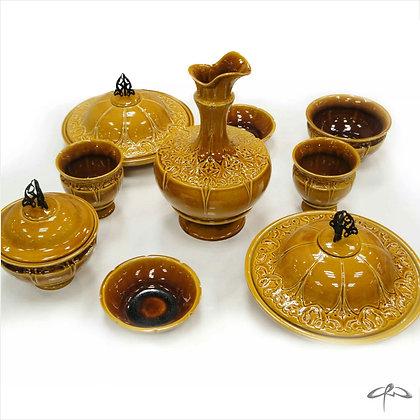 ottoman breakfast set / stoneware