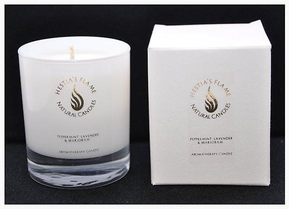 Peppermint, Lavender & Marjoram Medium Candle