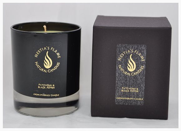 Patchouli & Black Pepper Medium Candle