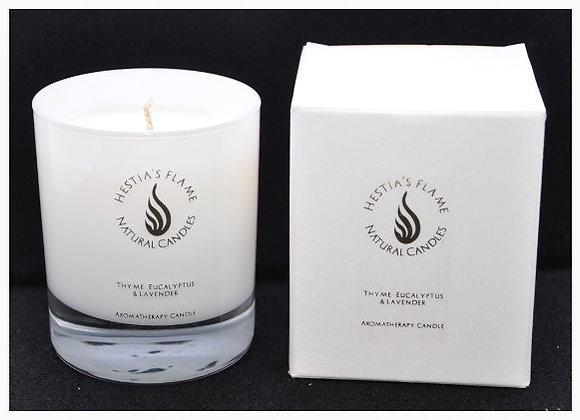 Thyme, Eucalyptus & Lavender Medium Candle