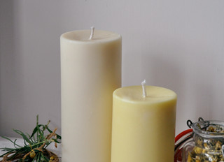 New Lavender and Chamomile aromatherapy candles and reed diffusers!