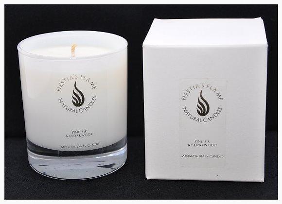 Pine, Fir & Cedarwood Medium Candle