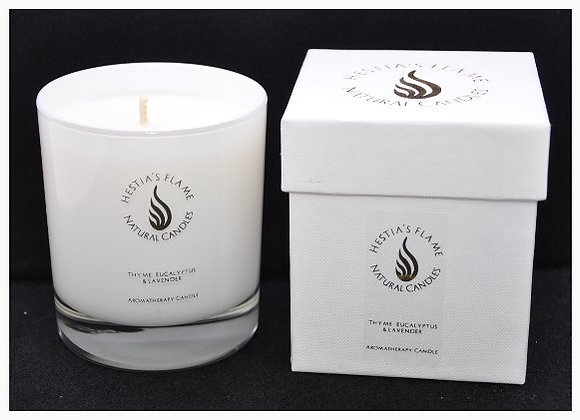 Thyme, Eucalyptus & Lavender Large Candle