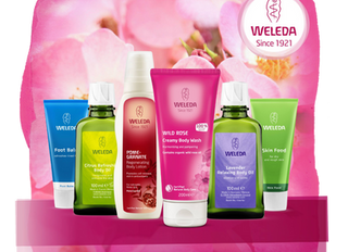 Natural skin and health care to match your natural candles?  We now stock Weleda!