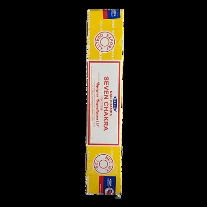 Seven Chakra Incense Sticks