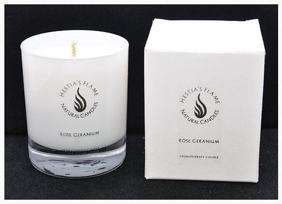 Rose Geranium Medium Candle