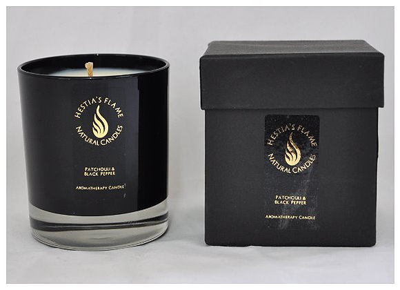 Patchouli & Black Pepper Large Candle
