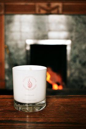 Winter Rose Medium Candle