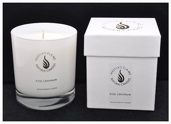 Rose Geranium Large Candle