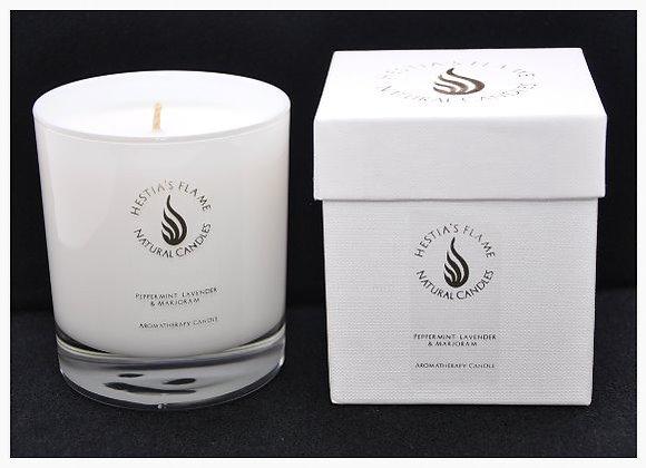 Peppermint, Lavender & Marjoram Large Candle