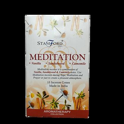 Meditation Incense Cones x15