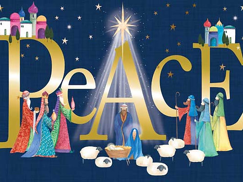 Nativity of Peace - Pack of 10 Cards
