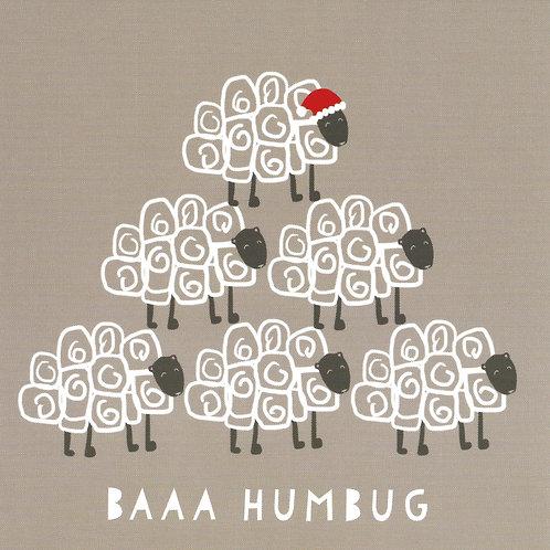Baa Humbug - pack of 10 Christmas Cards