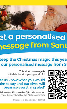 Personalised Message from Santa
