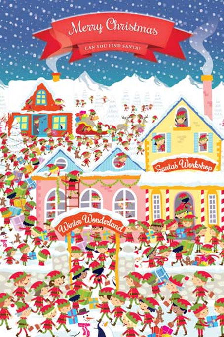 Where's Santa? - Pack of 10 Cards
