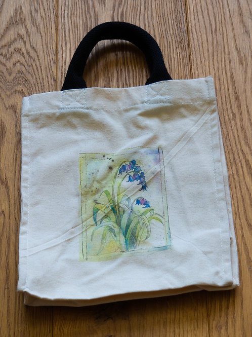 Lunch/small shopper bag - Bluebells by Sue Edwards