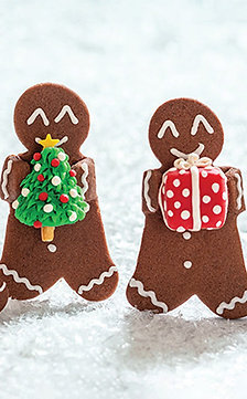 Joyous Gingerbread - Pack of 10 Cards