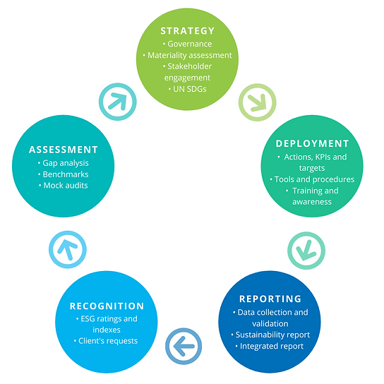 Sustainao's Sustainaiblity Consulting Services