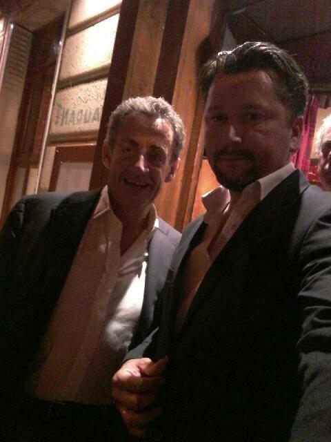 animation pour M.Sarkozy, son épouse