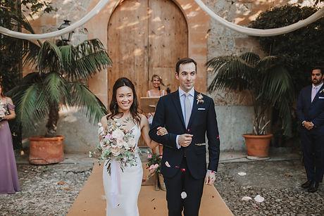 Wedding ceremony in Mallorca