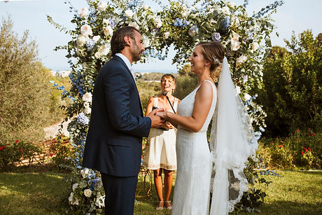 Wedding ceremony Castle Bendinat Mallorc