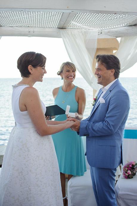 Hochzeitszeremonie in Port Verd Mallorca