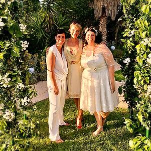 Gleichgeschlechtliche Hochzeitszeremonie Lesbian Wedding