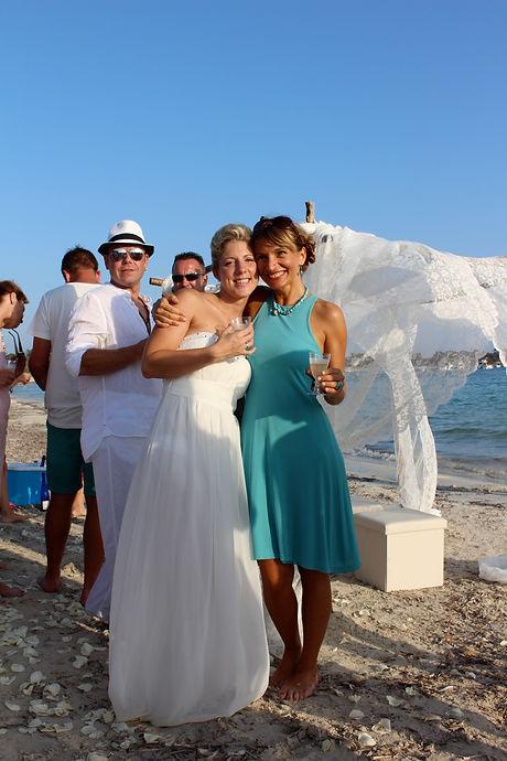 Hochzeit am Strand auf Mallorca