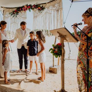 Heiraten am Strand mit Familie auf Mallo
