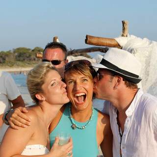 Hochzeitszeremonie am Strand in Mallorca