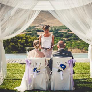 Hochzeitszeremonie Mallorca photo by Ana