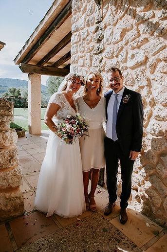 Happy wedding Mallorca with Claudia Nagy