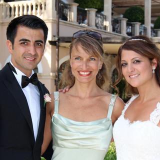 Persische Hochzeitszeremonie im Mardaval