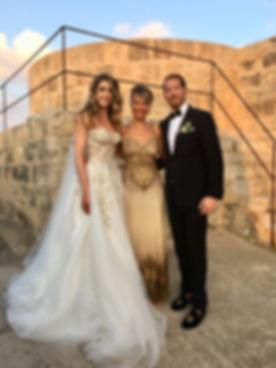 Wedding ceremony with Claudia Nagyivan i