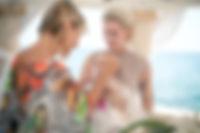 Freie Taufzeremonie am Meer in Mallorca