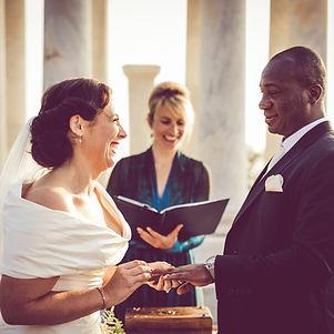 Bilingual wedding ceremony in Mallorca.