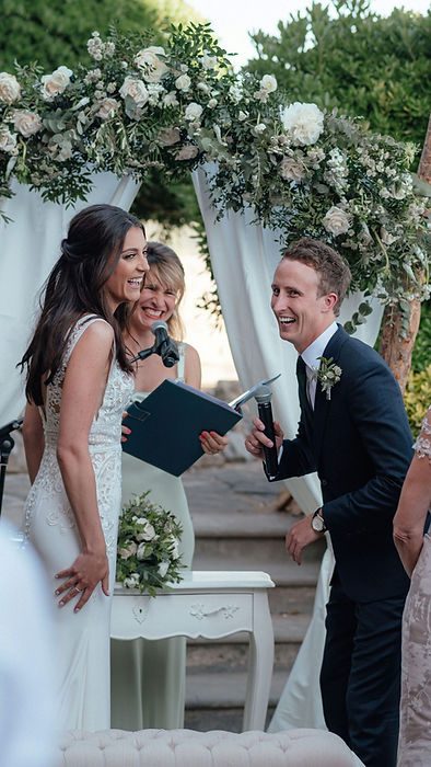 Wedding celebrant Mallorca Claudia Nagyi