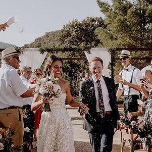 Zweisprachige Trauung auf Mallorca. Hoch